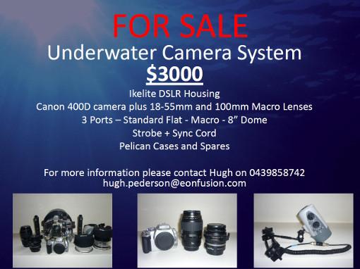 camera gear sale flyer