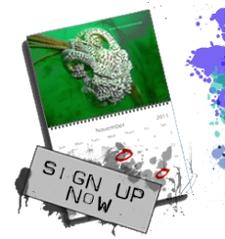 dive calendar signups