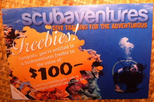 Scubaventures competition